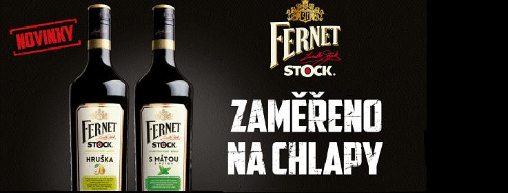 Fernet Stock Hruška a Máta