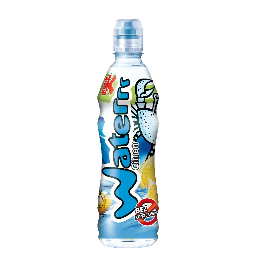 Kubík Water 0.5l PET citron