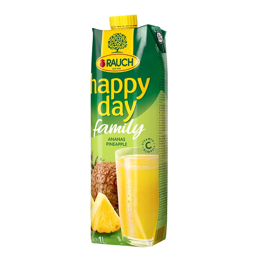 Happy day 1l Family ananas 55%