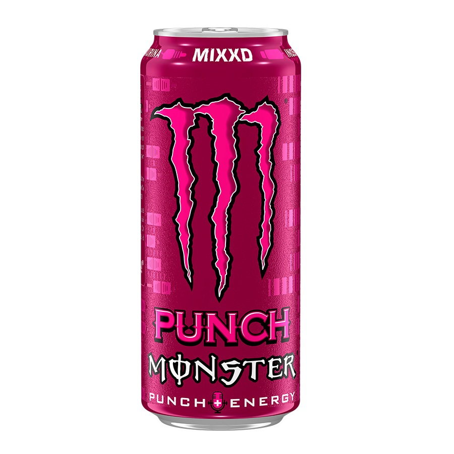 ENER.NÁPOJ MONSTER 0.5l MIXXD PUNCH