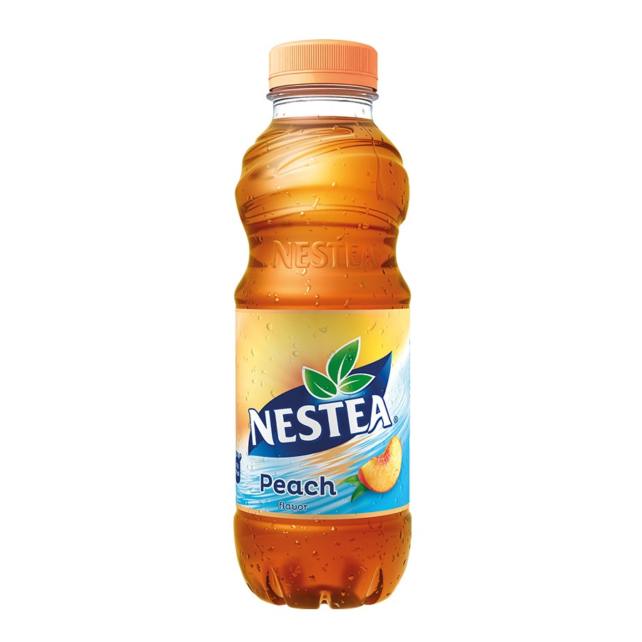 Nestea black tea peach 0.5l PET