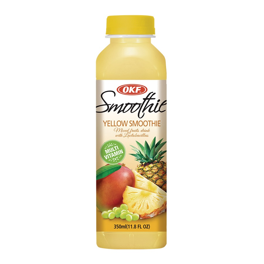 Smoothie yellow 0.35l PET  OKF