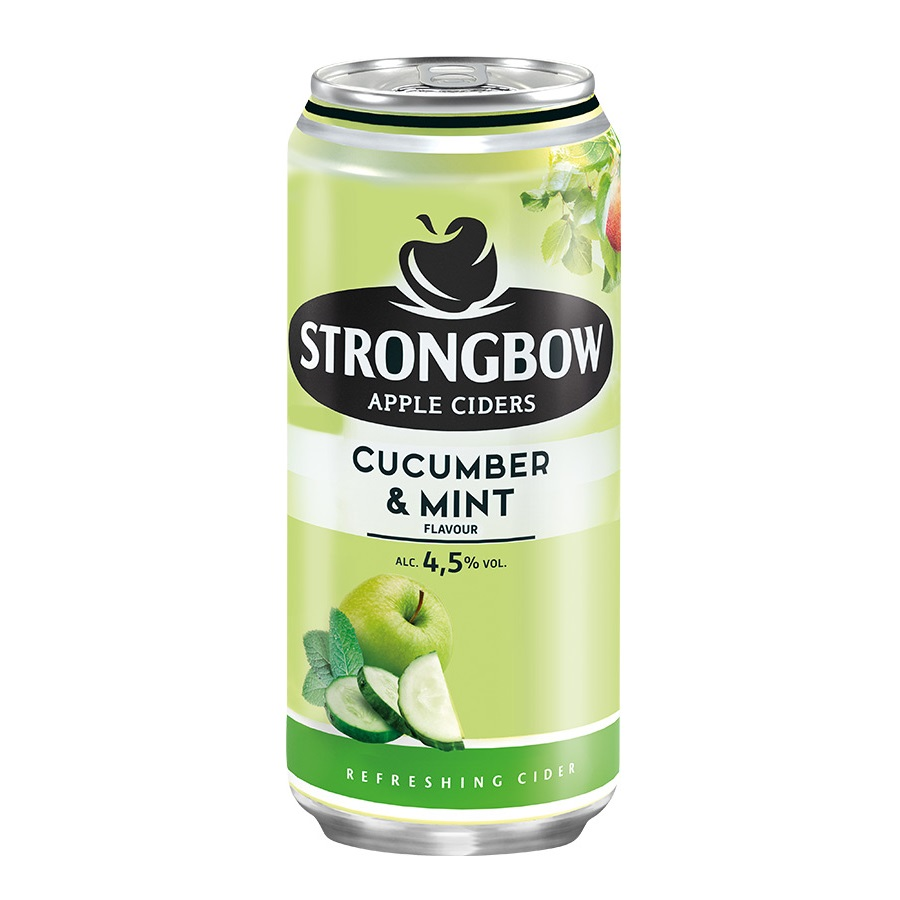 Strongbow cucumber/mint  0.44l
