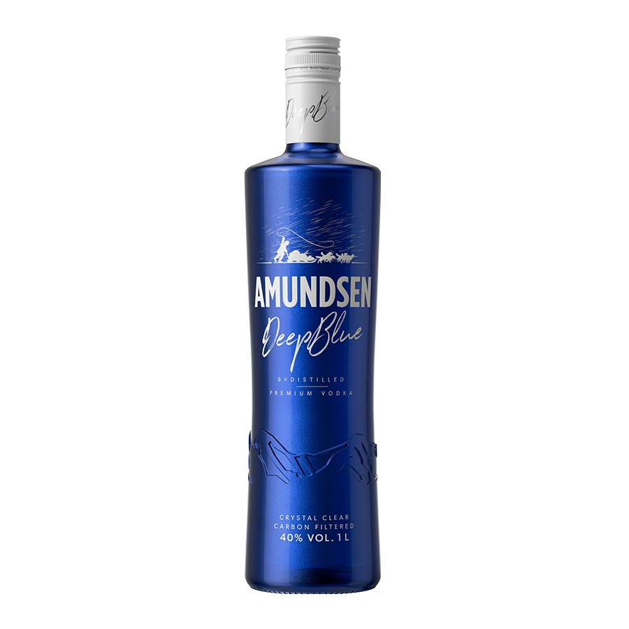 Vodka Amundsen Deep Blue 1l