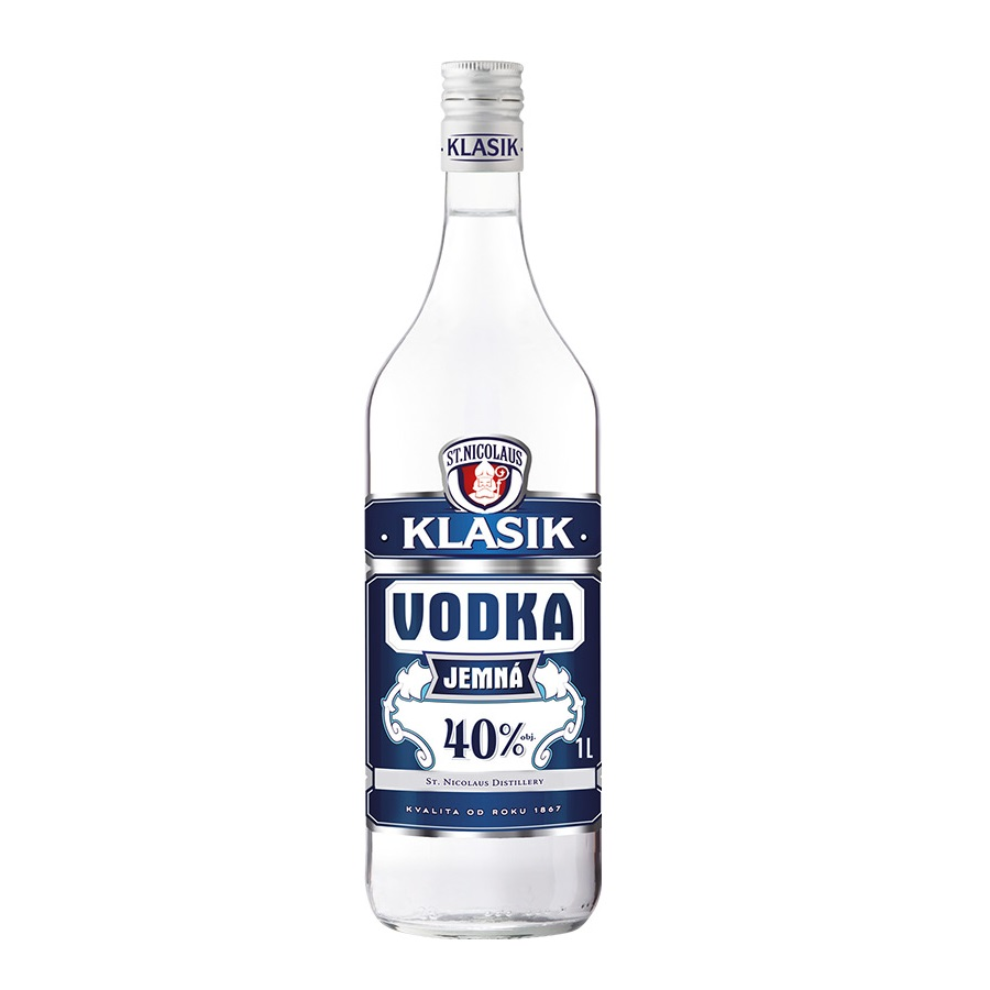 Vodka Klasik jemn� 1l 40%