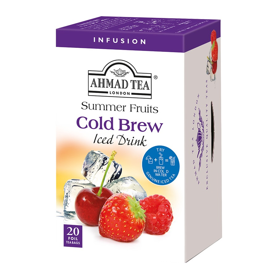Èaj AHMAD Cold Brew summer fruit    40g
