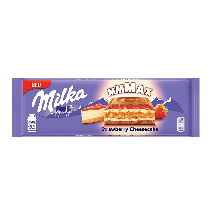 Èokoláda Milka Strawberry Cheesecake 300g