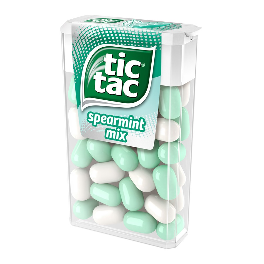 Tic Tac - spearmint mix 18g /24ks