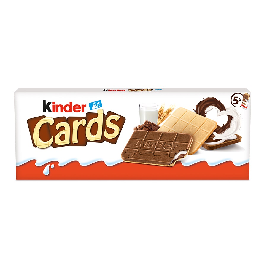 Oplatek Kinder Cards          128g