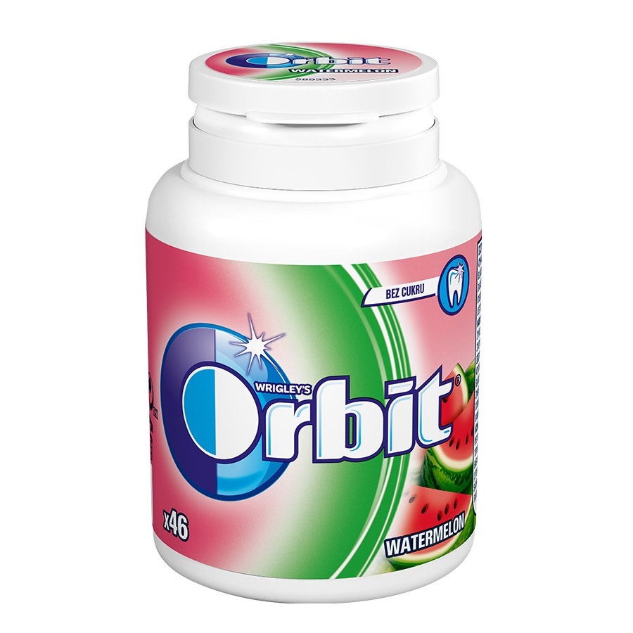 Žvýkaèky orbit watermelon dóza 64g