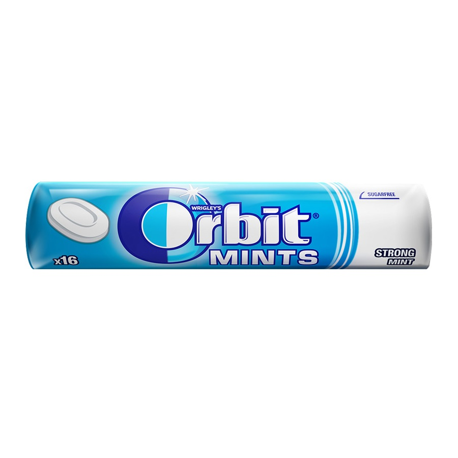 Bonbóny Orbit mints strong    28g