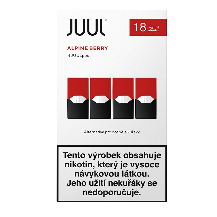 Náplò Juul Berry 18mg 4pack