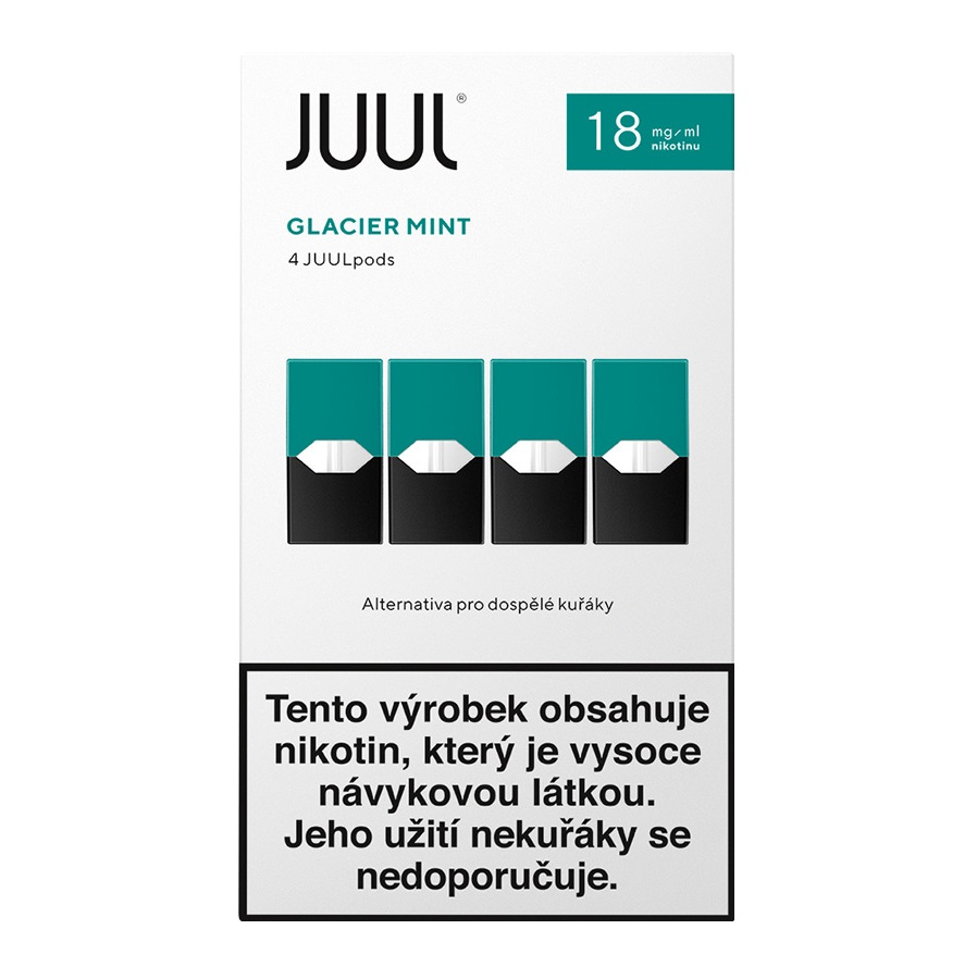 Náplò Juul Mint 18mg 4pack