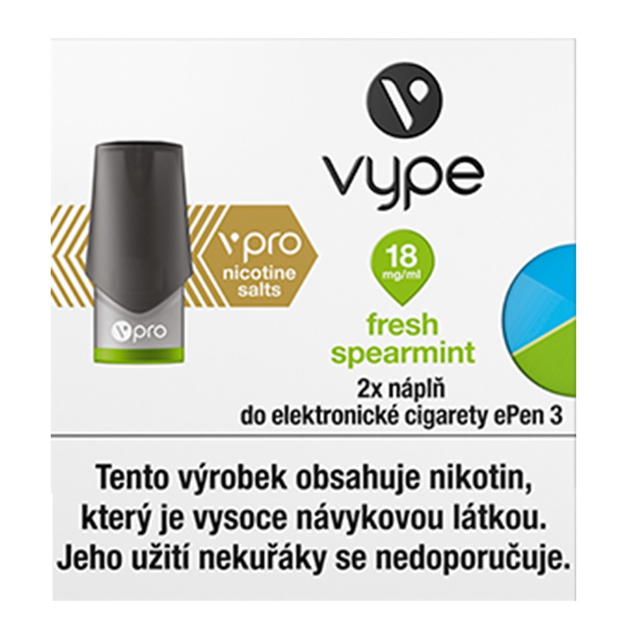 Náplò Vype ePen3 Fresh Spearmint 18mg