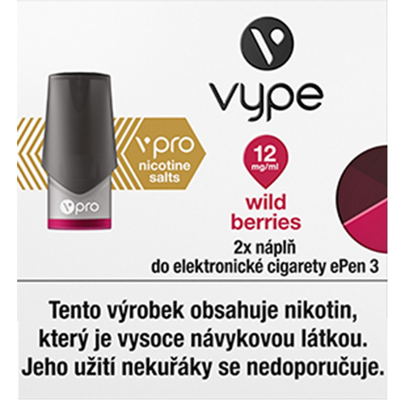 Náplò Vype ePen3 Wild Berries 12mg