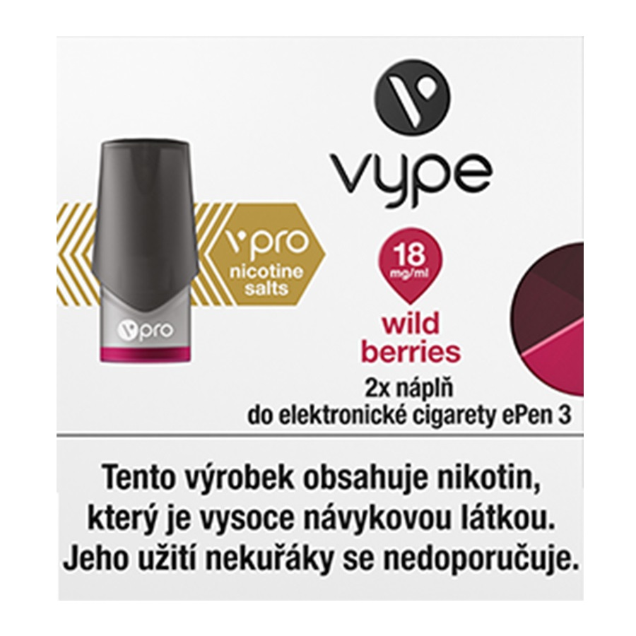 Náplò Vype ePen3 Wild Berries 18mg