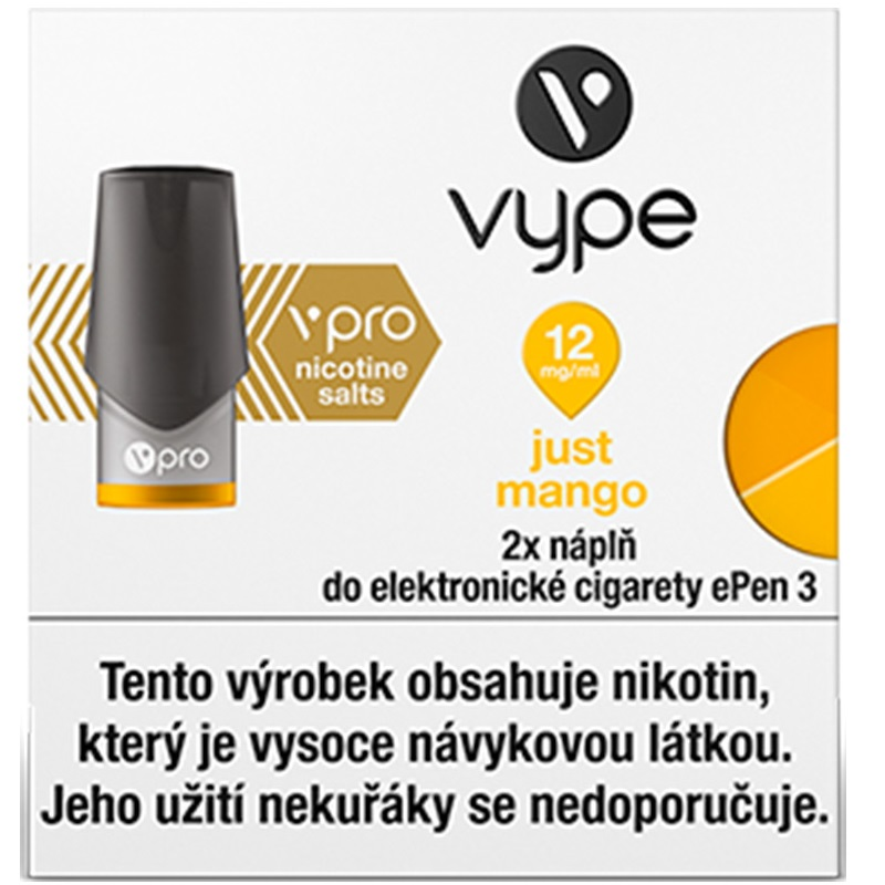 Náplò Vype ePen3 Just Mango  12mg
