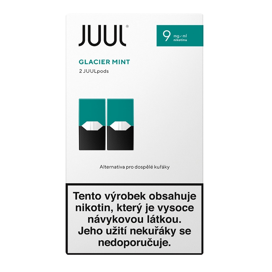 Náplò Juul Mint 9mg 2pack