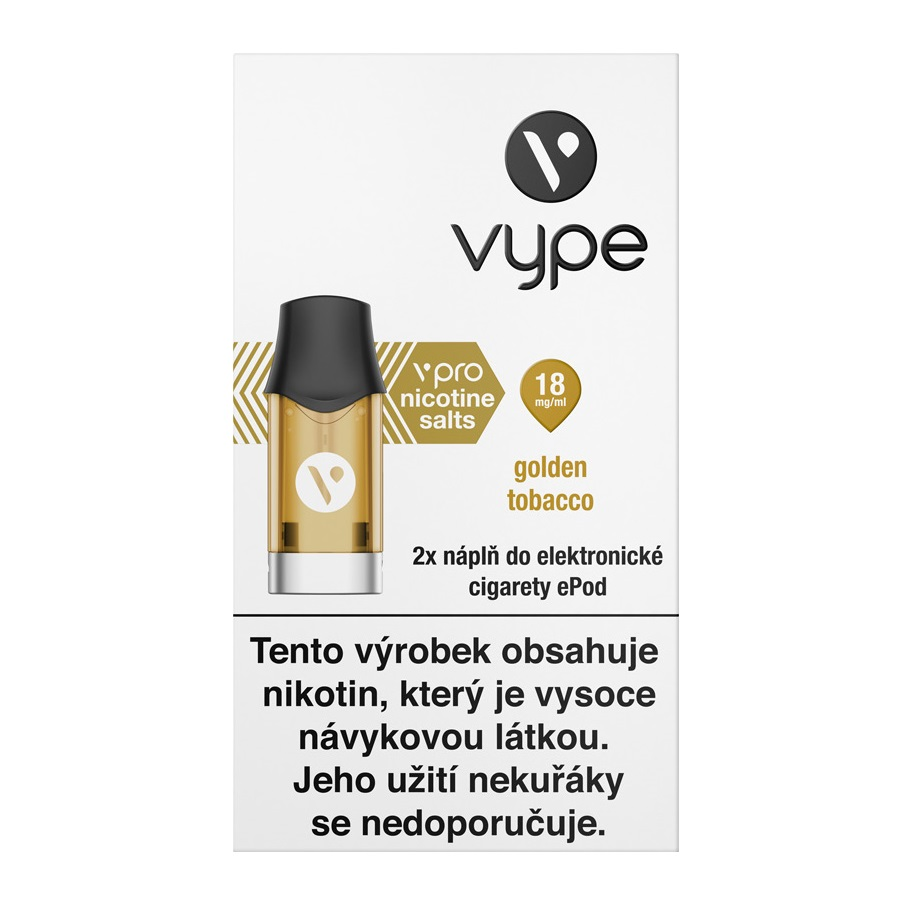 Náplò Vype ePod Golden Tobacco 18mg