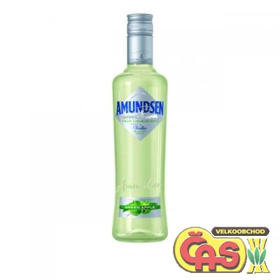 AMUNDSEN VODKA GREEN APPLE  1l   15%