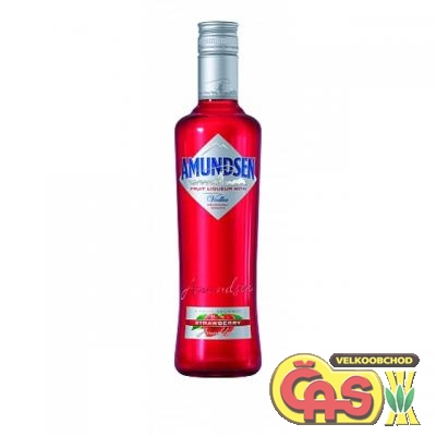 AMUNDSEN VODKA  STRAWBERRY 0.5l 15%