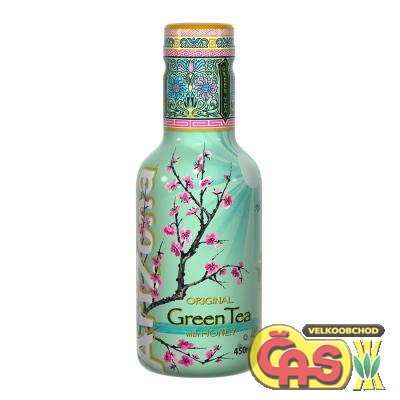 Arizona green tea+med 0.45l PET