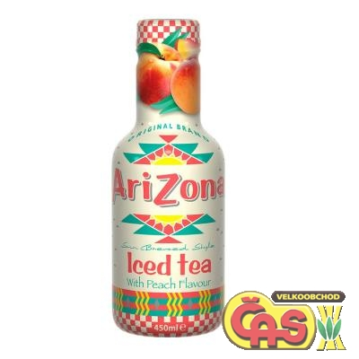 Arizona iced tea peach 0.45l PET