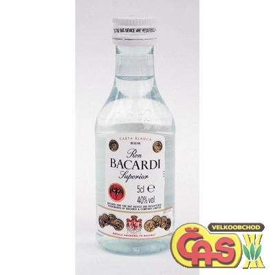 BACARDI CARTA BLANCA 0.05l MINI 40%