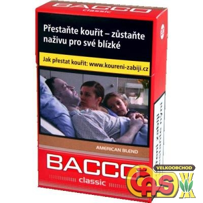 BACCO     CLASSIC RED  V82,-