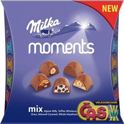 Bonboniéra Milka Moments Assortment 96g