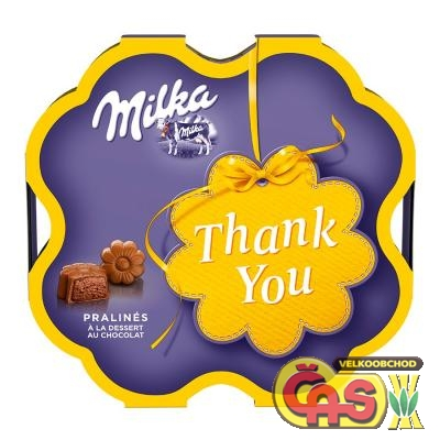 Bonboniera Milka Thank You 44g