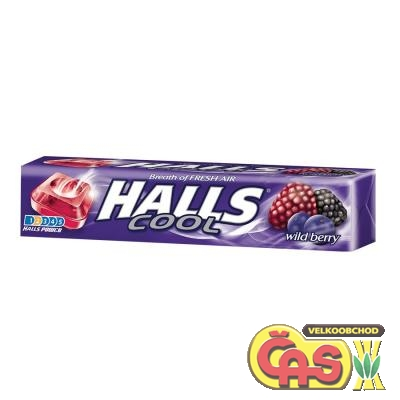 HALLS Wildberry     33.5g