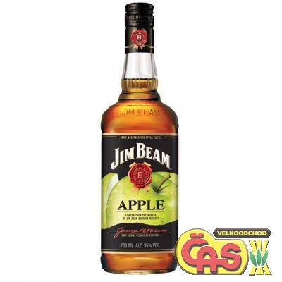 BOURBON - JIM BEAM 1l APPLE 35%