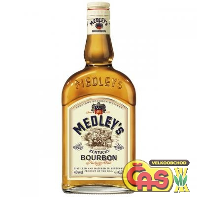 BOURBON - MEDLEYS 0.7l    40%
