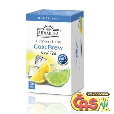 ÈAJ AHMAD-Cold Brew LEMON-LIME 40g