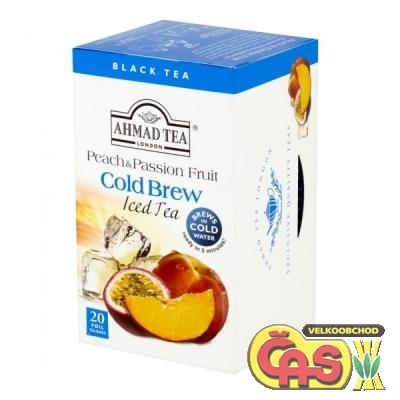 ÈAJ AHMAD-Cold Brew PEACH-PASSION FRUIT 40g