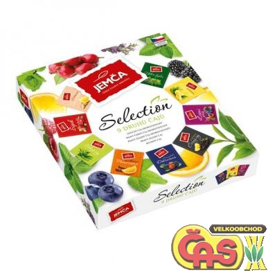 ÈAJ  JEMÈA SELECTION 72g/9 druhù