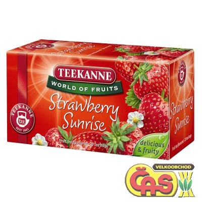 ÈAJ TEEKANNE  STRAWBERRY SUNRISE 50g