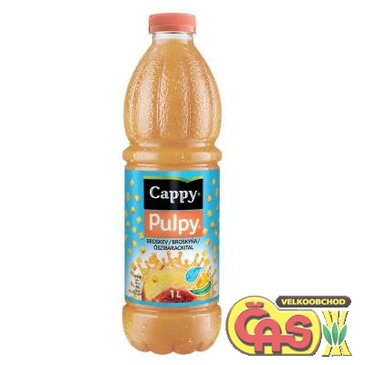 CAPPY - 1l PULPY BROSKEV PET