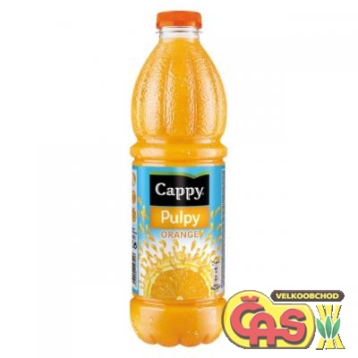 CAPPY - 1l PULPY ORANGE PET