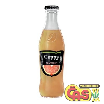 CAPPY  - GRAPEFRUIT 50% SKLO 0.25l