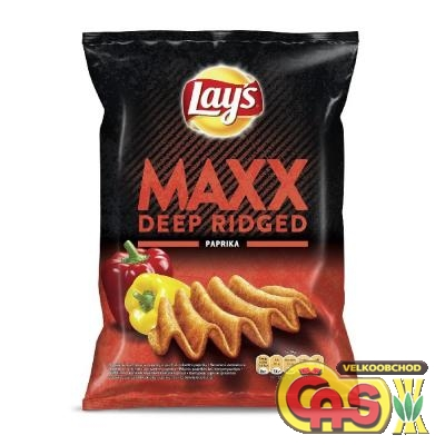 CHIPS LAYS MAX 65g PAPRIKA