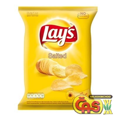 CHIPS LAYS  SLANÉ (SALT) 70g