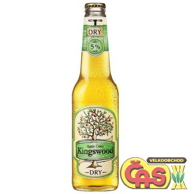 CIDER KINGSWOOD DRY 0.4l