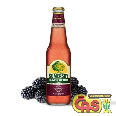 CIDER SOMERSBY BLACKBERRY 0.33l
