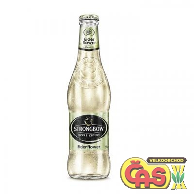 CIDER STRONGBOW ELDERFLOWER 0.33l bezinka