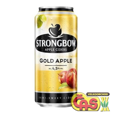 CIDER STRONGBOW APPLE GOLD 0.44l plech