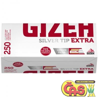 DUTINKY GIZEH SILVER TIP EXTRA 250/4ks