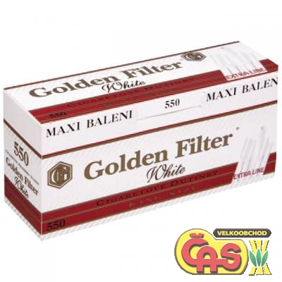 DUTINKY GOLDEN FILTER WHITE 550