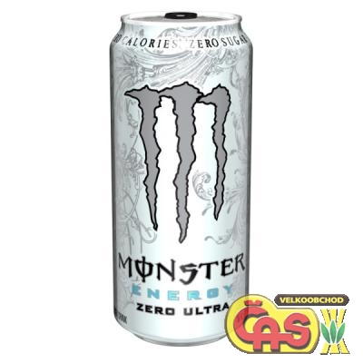 ENER.N�POJ MONSTER 0.5l ZERO ULTRA b�l�
